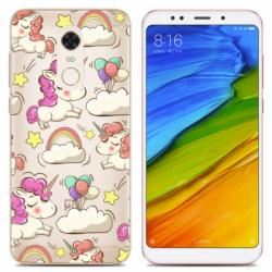 OEM Back Cover Silicone Unicorns (Xiaomi Redmi 5 Plus)