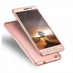 OEM 360 Full Body ROSE GOLD + Tempered Glass (Xiaomi Redmi 4a)