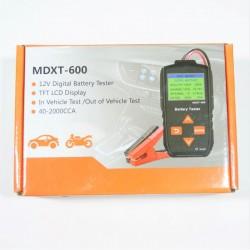 12Volt DIGITAL BATTERY TESTER MDXT-600