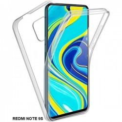 360 Case with Hard Back and Silicone Front for Redmi Note 9s / 9 Pro / 9 Pro Max