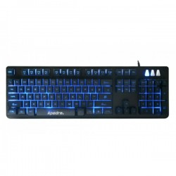 Apedra GK-490 USB Wired Mechanical Gaming Keyboard
