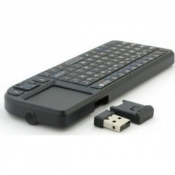 Wireless keyboard with integrated touchpad - Rii tek RT-MWK01 ENGLISH KEYBOARD