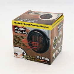 PORTABLE AIR HEATER SOCKET 900W