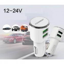 Fineblue F-UC06 Dual USB Car Adapter 3.4A & amp; Micro USB Cable