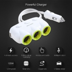 Awei C-35 Car Charger-white