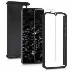 360 Full Body + Tempered Glass Black (Xiaomi Mi A3)