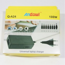 Andowl LAPTOP CHARGER 100W UNIVERSAL Q-A24