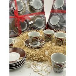 Ceramic cups, coffee cups, tea cups,6 piece set