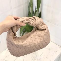 2021 Latest Style Woman Handbag Genuine Sheepskin Leather Weave Bag High-Quality Hobo Bag Fashion women's choice Hand Bags