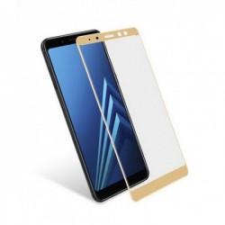 OEM Samsung Galaxy A8 Plus (2018) Full Cover Full Glue - Χρυσό