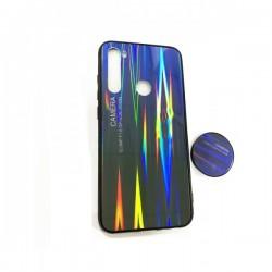 PC Back Case with Pop Holder for Xiaomi Redmi Note 8 - Aurora Blue