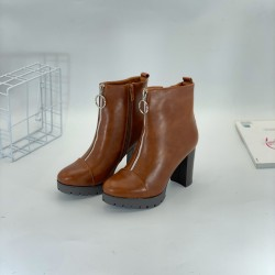 Women's shoes, leather shoes, boots
