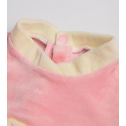 Children's clothing, baby clothing, one-piece clothing pink