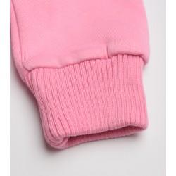 Girls' long sleeve zipper shirt with hat