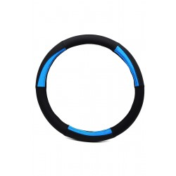 Car steering wheel protective cover, color matching 38cm