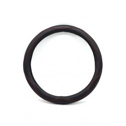 Car steering wheel protective cover, leather material 38cm